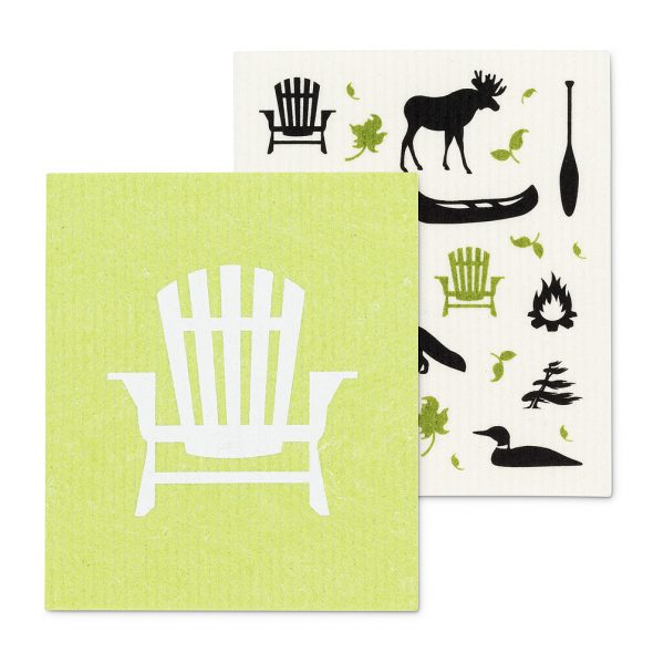 dish cloth chair icon
