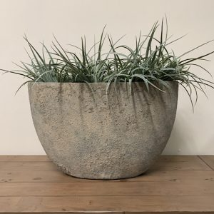 Oval Planter Rustic Dusty