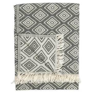 turkish towel pyramid black