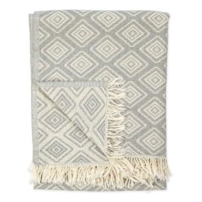 turkish towel pyramid light grey TTPE2_lg