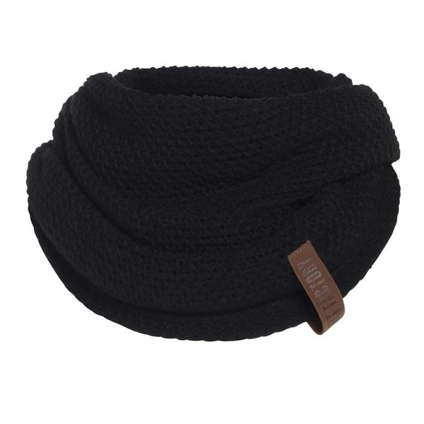 coco-infinity-scarf-black-Knit factory