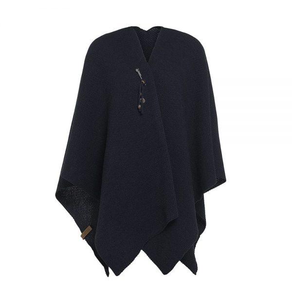 jazz-shawl-wrap-navy-Knit Factory