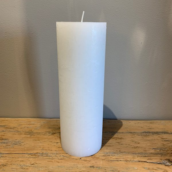 candle 4 x 11.5 white