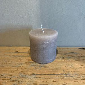candle 4 x 4 stone