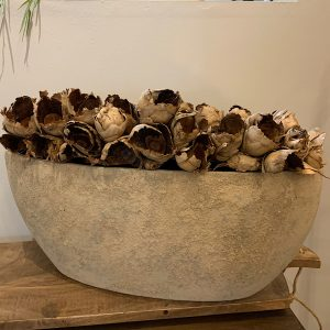 old brown brynxz oval planter