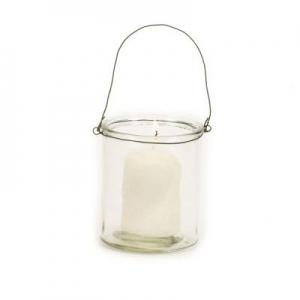 Simple glass for tea light small