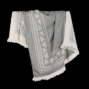 turkish towel devon light grey