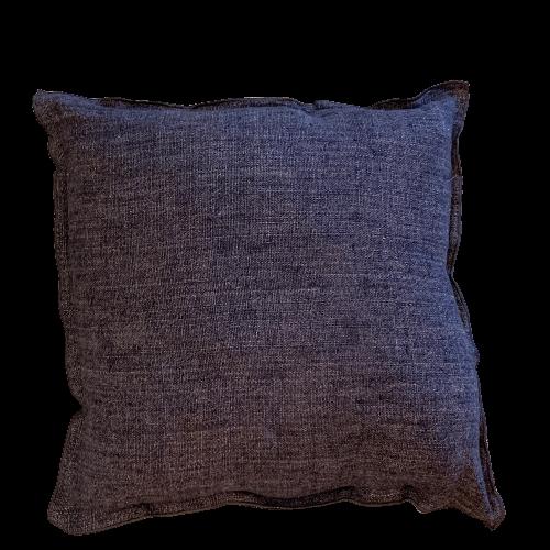 linen charcoal pillow