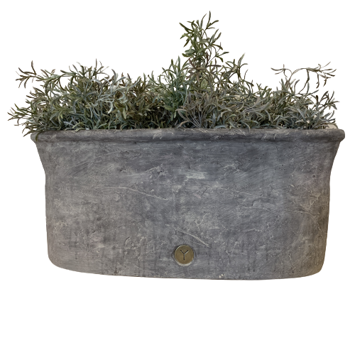brynxz basic vintage planter oval