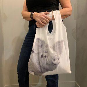 folding tote pig