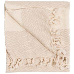 diamond cream hand towel