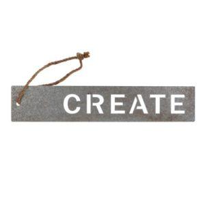 create metal sign
