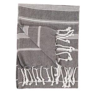 sultan black hand towel