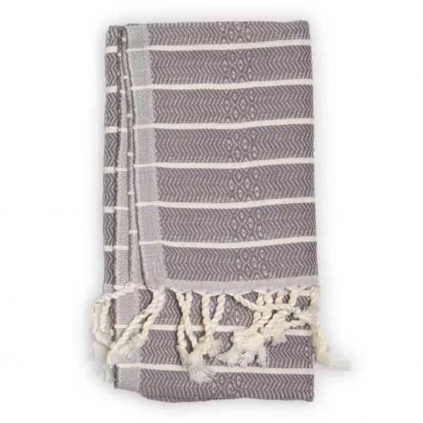 hand towel slate bamboo