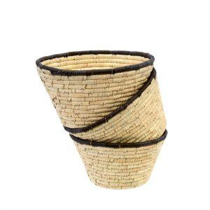 date leaf basket set
