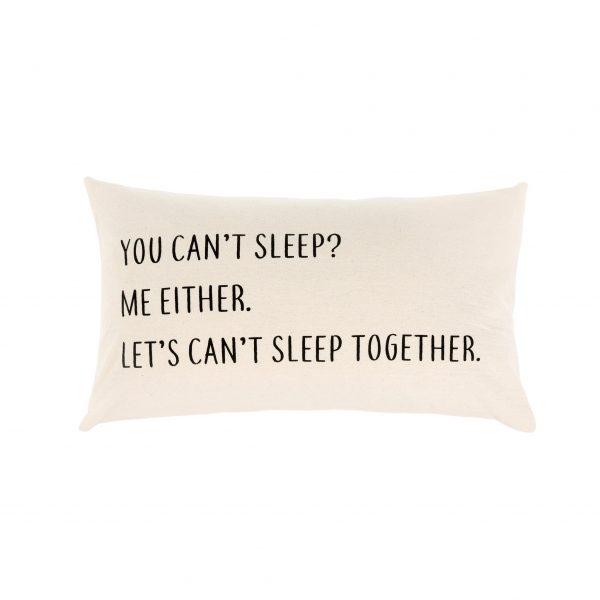 pillow cant sleep