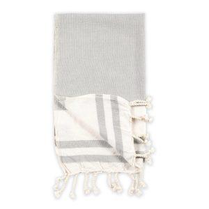 classic hand towel light grey