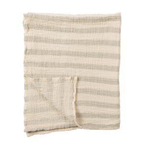 sailor baby blanket grey