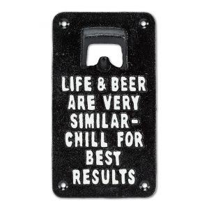 bottle opener life & beer