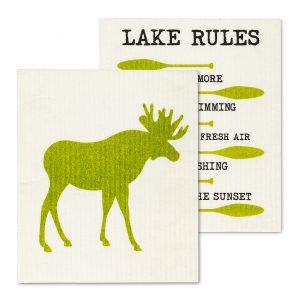 dish cloth lake rules moose