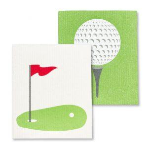 golf dish cloth