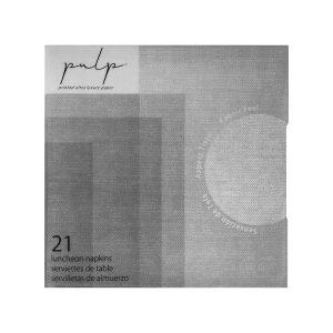 pulp silver lunch napkin