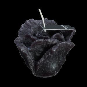 Candle Rose Black