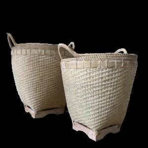 Bamboo Basket L M 2