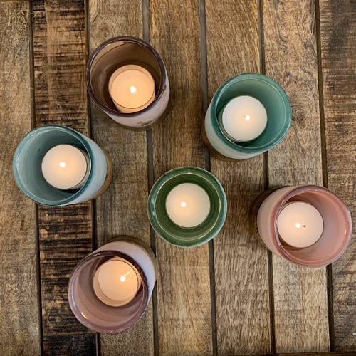 Frosted Tea Light Small
