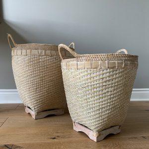 Bamboo Basket L M