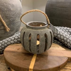 Tea Light Holder Rope 2