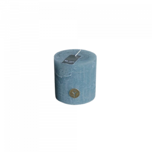 Candle Blue Grey 4x4