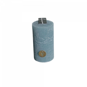 Candle Grey Blue 2.75x5