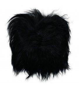icelandic-sheepskin-chair-pad black