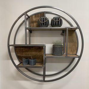 Round Wall Shelf 2