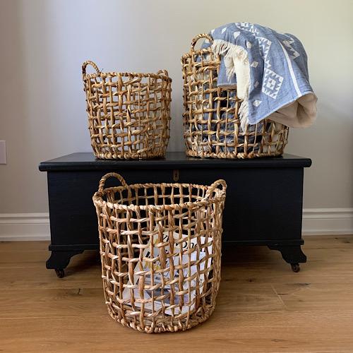 Water Hyacinth Baskets 2