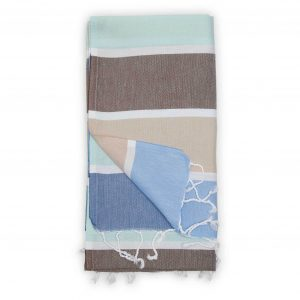 turkish towel thick stripe water