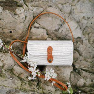 Bali Bag Rectangular White