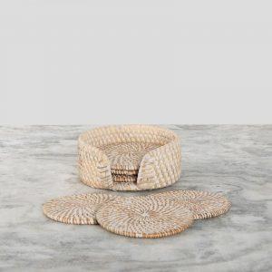 Coasters White 3