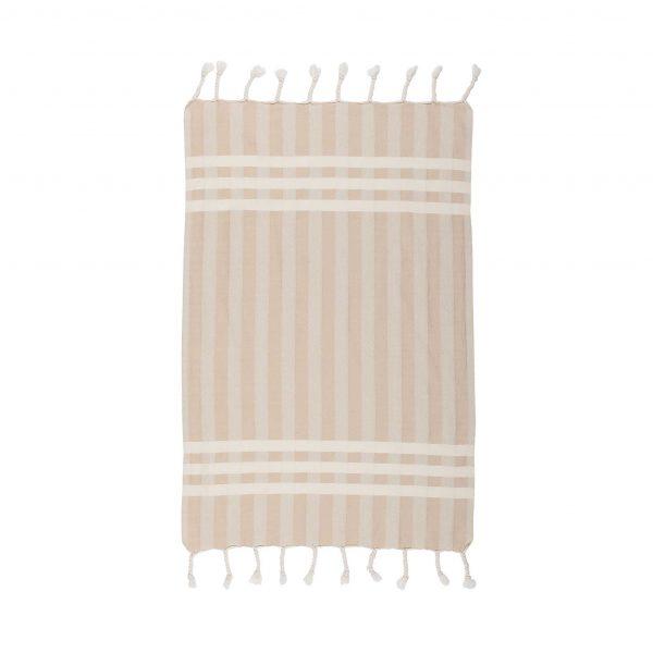 Criss Cross Beige Hand Towel 2