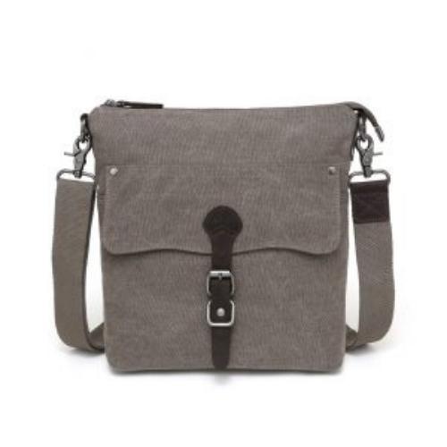 Canvas Shoulder Bag Brown