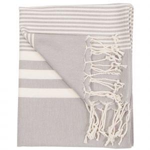 Harem Hand Towel Silver