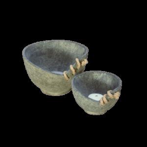 Set of 2 Tea Light Cups