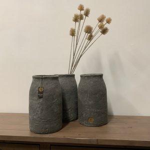 Tall Industrial Vase