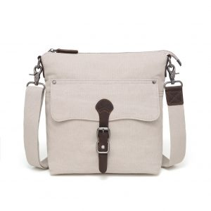 Canvas Shoulder Bag Cream