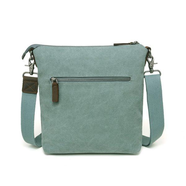 Canvas Shoulder Bag Turquoise