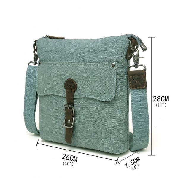 Canvas Shoulder Bag Measurement