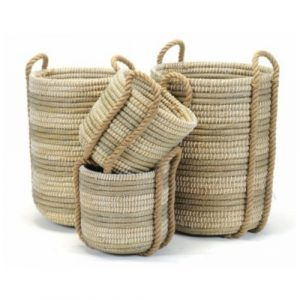 Coiled Grass Basket Large