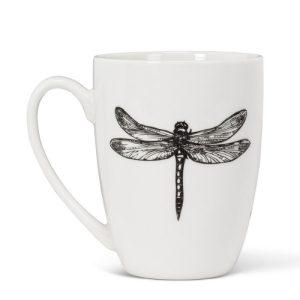 Pen Ink Dragonfly Mug 1