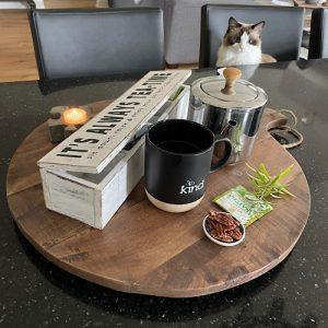 Tea Box round board